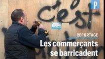 Grève du 5 décembre : les commerces parisiens se barricadent