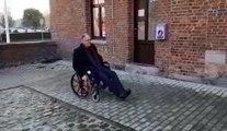 Le bourgmestre de Brunehaut se met dans la peau d'une personne à mobilité réduite