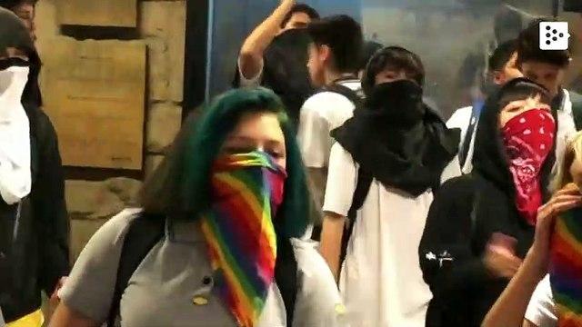 Evasions continue in the Santiago de Chile subway