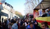 Plus d'un millier d'étudiants fêtent la Saint-Nicolas dans les rues de Namur