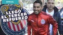 Llegó Gallito Vázquez a pruebas médicas y físicas con Chivas
