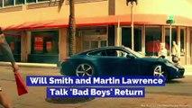 Will Smith and Martin Lawrence Talk 'Bad Boys' Return