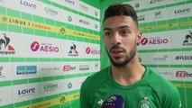 """Denis Bouanga : """"Notre match le plus abouti"""""""