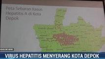Hepatitis A di Depok Capai 262 Kasus