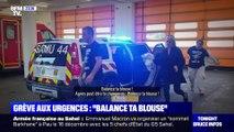 """Grève aux urgences: """"Balance ta blouse"""" - 04/12"""