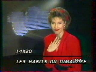 """Canal + - 4 Novembre 1994 - Flash Infos, jingles, """"Télé Totem"""" (Denise Fabre)"""