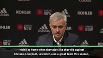 Mourinho aims subtle dig at United after first Tottenham defeat