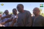 RTB/Rencontre entre le Ministre de la sécurité, Ousséni COMPAORE et les  forces vives de la région du Nord