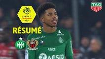 AS Saint-Etienne - OGC Nice (4-1)  - Résumé - (ASSE-OGCN) / 2019-20