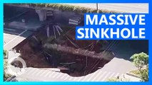 Three missing in Chinese sinkhole