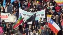 Chilenos seguem nas ruas