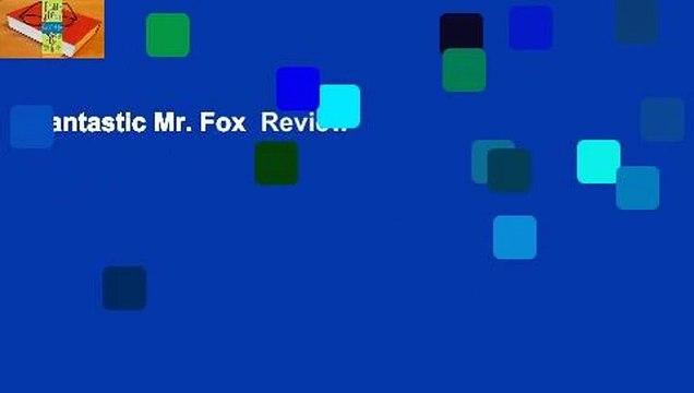Fantastic Mr. Fox  Review