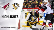 NHL Highlights | Coyotes @ Penguins 12/06/19