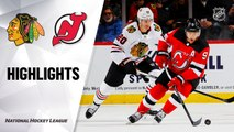 NHL Highlights | Blackhawks @ Devils 12/06/19