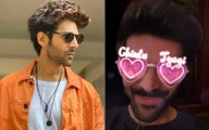 Kartik Aaryan Becomes The First Bollywood Actor To Get A Customized Instagram Filter