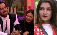 Bigg Boss 13 Shefali Bagga Finds Rashami Desai Arhaan Khan Love Fake Challenges Them To Marry On The Show