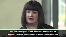 Rugby Australia CEO defends Folau settlement