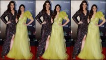 Kriti Sanon and Nupur Sanon shine bright at the Filmfare Glamour And Style Awards 2019