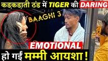 Mother Ayesha Shroff Gets Emotional Seeing Son Tiger Shroff Shooting For Baaghi 3!