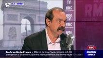 """Selon Philippe Martinez, il n'y a """"jamais de casseurs et d'extrémistes"""" dans les cortèges de la CGT"""