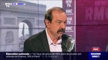 """Philippe Martinez: la grève sera reconductible si """"les trois points qui sont qui sont la structure"""" de la réforme de retraites ne sont pas enlevés"""
