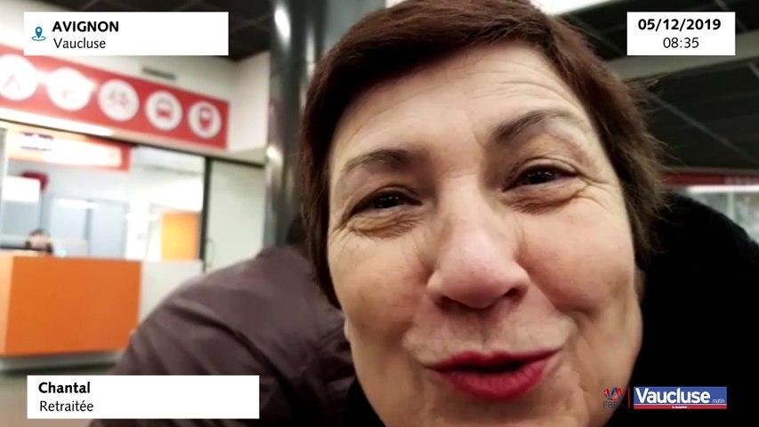 Avignon, Chantal retraitée