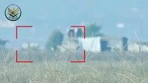 تدمير قاعدة صواريخ لميليشيا أسد على محور الحاكورة إثر استهدافها بصاروخ مضاد للدروع