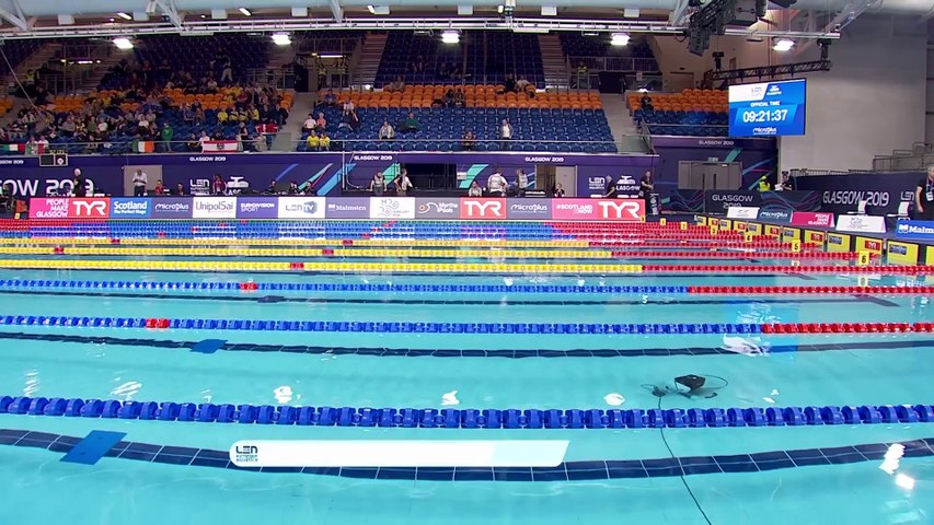 20th LEN European Short Course Swimming Championships - GLASGOW 2019 - Day 2 Morning