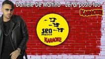 Daniele De Martino - Lei al posto tuo (Ufficiale 2019) Karaoke