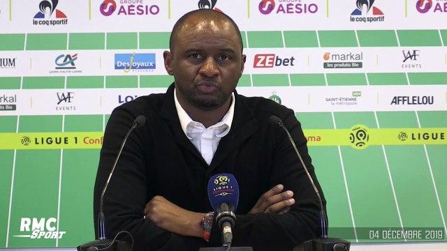 """ASSE - Nice : """"Des joueurs sont passés à travers"""", Vieira dépité après la défaite"""