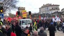 Avignon : la manifestation en cours de constitution