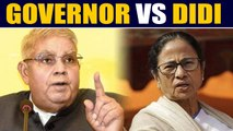 West Bengal Governor Jagdeep Dhankhar 'locked out' of Assembly | OneIndia News