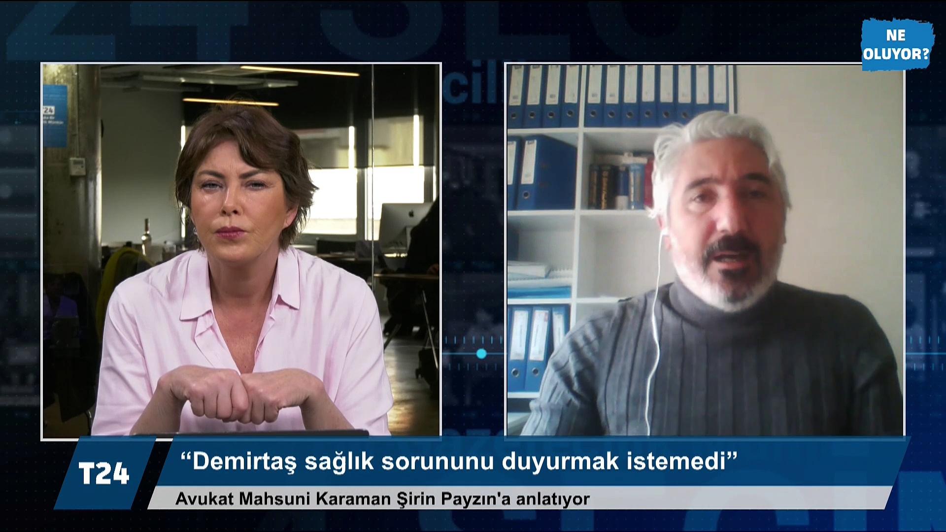 Avukat Karaman: Hekimler, Demirtaş'ın ölümcül bir kalp krizi geçirebileceğini söylüyor; tahliyesini talep edeceğiz