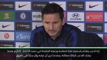 كرة قدم: الدوري الممتاز: لامبارد سعيد بعودة ابراهام إلى تشلسي