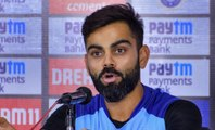India vs West Indies : Virat Kohli talks about India's strategy | OneIndia News