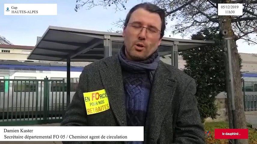 Damien Kuster, Secrétaire départemental FO