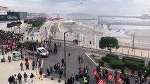 Le défilé est très étendu à Marseille