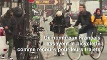 La grève des transports publics ouvre un boulevard aux vélos