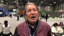 El indígena que increpó a Almeida quiere hablar con Pedro Sánchez