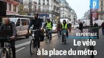 Grève du 5 décembre : « J'ai ressorti mon vélo de la cave »