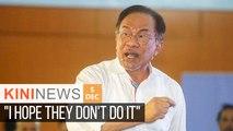 Party saboteurs will be sacked, says Anwar  | Kini News - 5 Dec