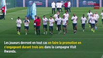 Football : le Rwanda, le nouveau sponsor que s'est choisi le PSG