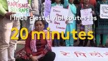 Inde : les femmes en colère manifestent contre les viols
