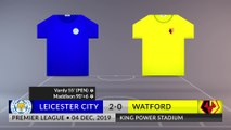 Match Review: Leicester City vs Watford on 04/12/2019