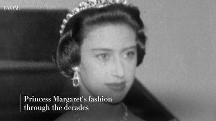 Princess Margaret's fashion through the decades
