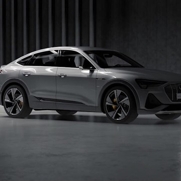Audi e-tron Sportback Digital Matrix LED functions
