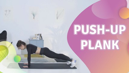 Push-up plank - Step to Health
