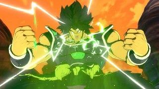 Gameplay de Broly de Dragon Ball Super en Dragon Ball FighterZ