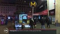 Grève du 5 décembre : gares SNCF et rames RATP désertes