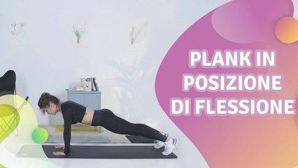 Plank in posizione di flessione - Vivere più Sani